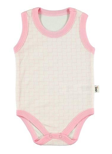 Civil Baby  Bebek Çıtçıtlı Badi 0-18 Ay Pembe  Bebek Çıtçıtlı Badi 0-18 Ay Pembe Pembe